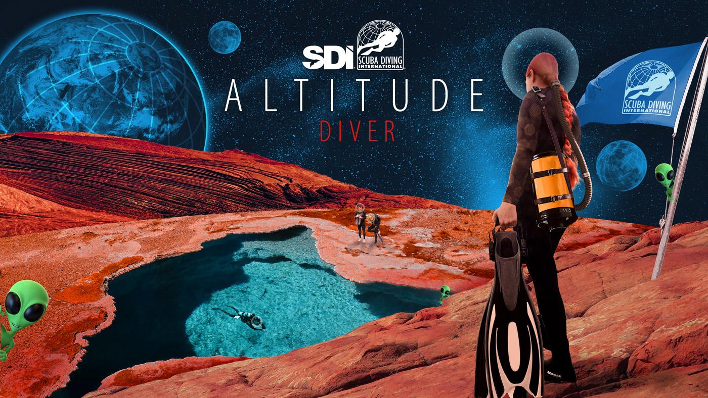 SDI Diver on Mars