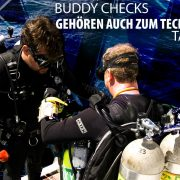 Buddy checks are for tech divers too German