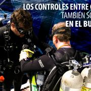 Buddy checks are for tech divers too Spanish