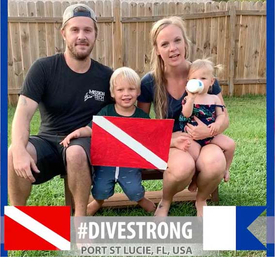 dive strong
