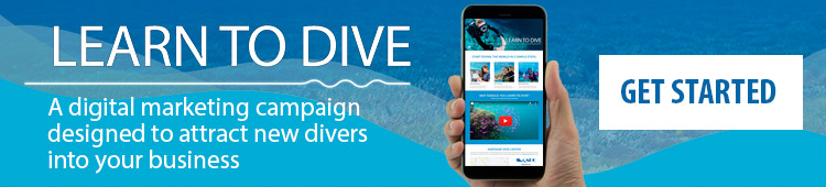 Learn To Dive Campaign