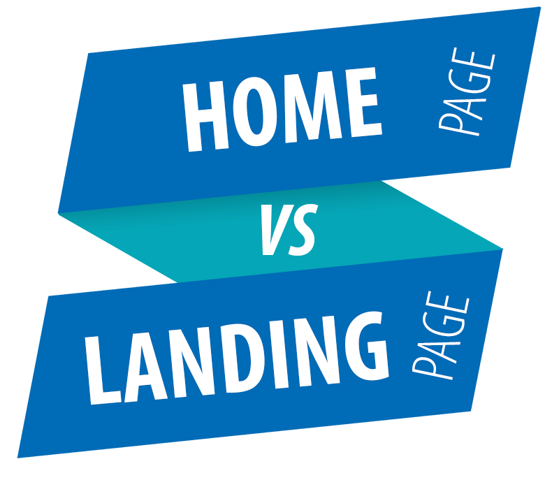 Home page vs Landing page