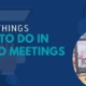 Five things not to do in video meetings