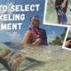 How to Select Snorkeling Equipment
