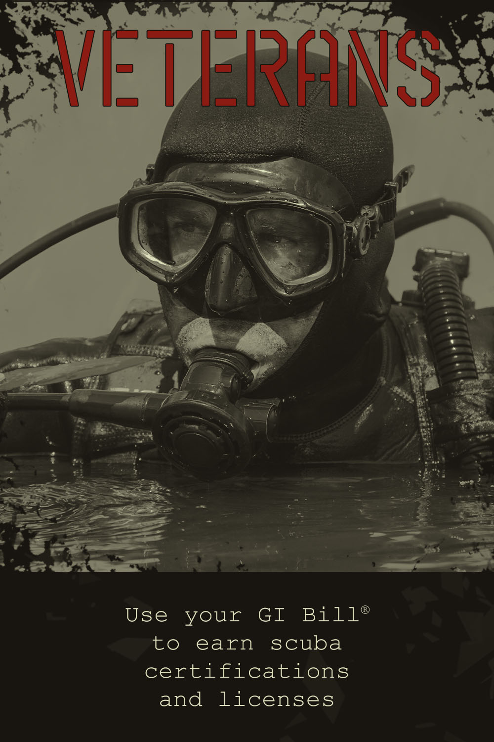 Veterans - Use your GI Bill to earn scuba certifications and licenses - mobile