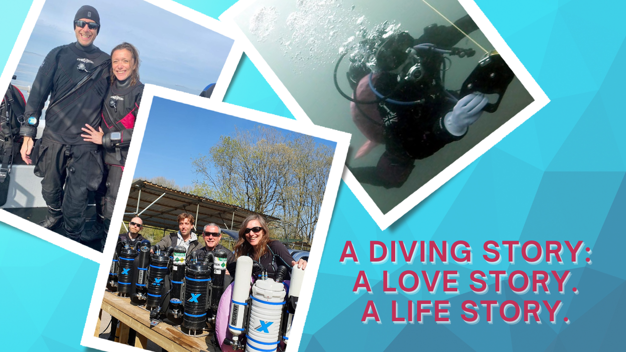 A diving story - a love story - a life story