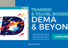 Training and Travel Schedule Dema and Beyond