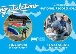Vertical Blue and Two National Records
