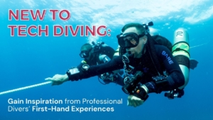 new to tech diving